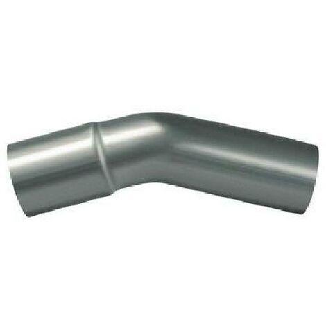 Coude 45degres Inox D38mmL250mmEp1.5mm POWERSPRINT