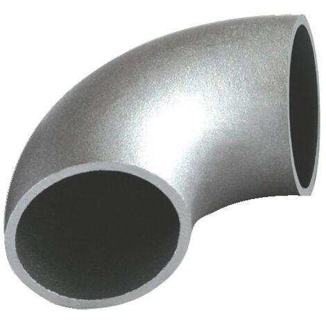 Coude 90° acier noir sans soudure 3d