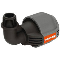 Coude 90 Degrés Sprinklersystem 25 mm 15/21 (1/2 pouces) mâle GARDENA 2780-20