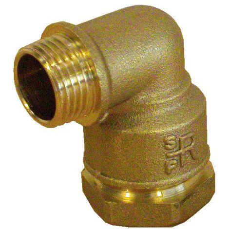 Coude 90° fileté laiton pour tube PE - Générique - Plusieurs modèles disponibles