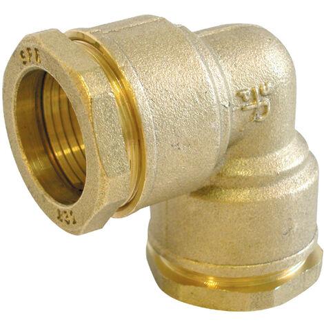 Coude 90° laiton pour tube PE - Générique - Plusieurs modèles disponibles