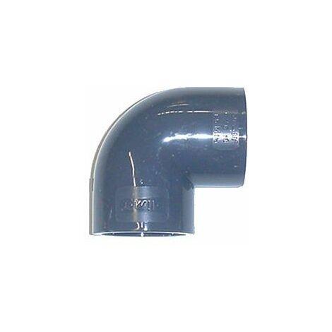 Coude 90° PVC pression à coller FF - Générique - Plusieurs modèles disponibles