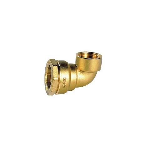 Coude 90° taraudé laiton pour tube PE - Générique - Plusieurs modèles disponibles