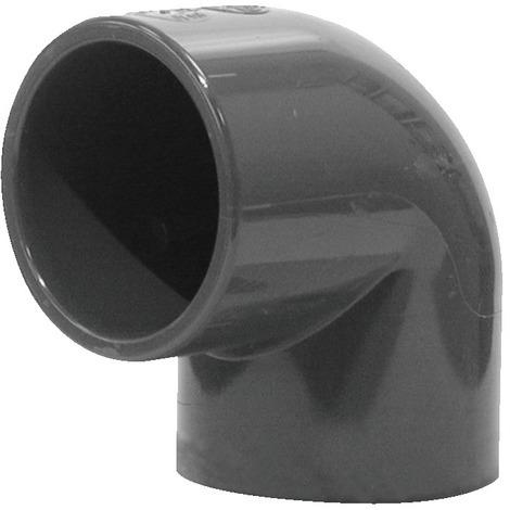 Coude 90° PVC pression petit rayon Femelle Femelle
