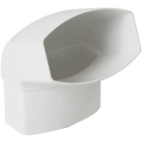 Coude 90x56 ovation 28 mf 67°30 blanc