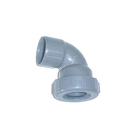 Coude à joint en PVC - Diamètre 40 mm