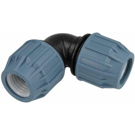 Coude à sertir PE 90° F/F 32 x 32 mm