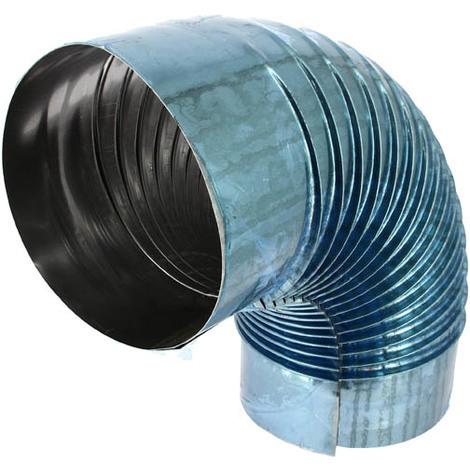 Coude aluminié 90° Ø180