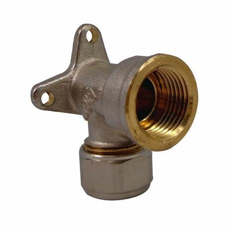 Coude applique à compression pour tube Multicouche - plusieurs modèles disponibles