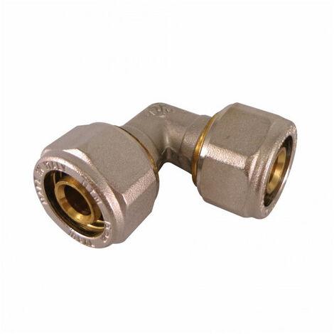 Coude égal à compression pour tube Multicouche - plusieurs modèles disponibles