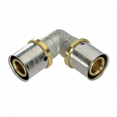 Coude égal à sertir pour tube Multicouche - plusieurs modèles disponibles