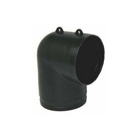 Coude équerre Flexigaine - Diamètre 80mm
