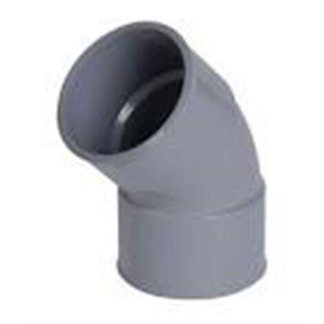 Coude Femelle / Femelle PVC - 45° - Diamètre 32 mm