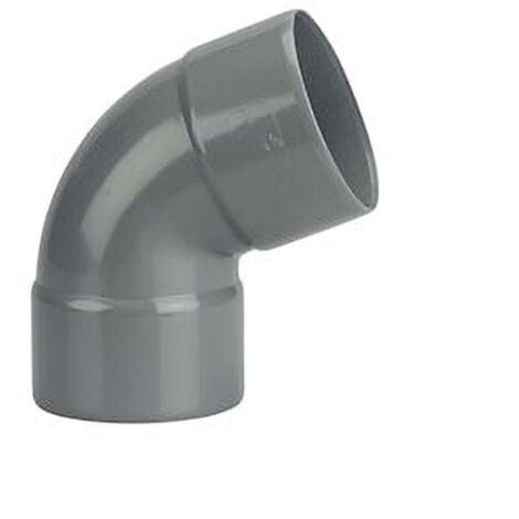 Coude Femelle / Femelle PVC - 67°30 - Diamètre 40 mm