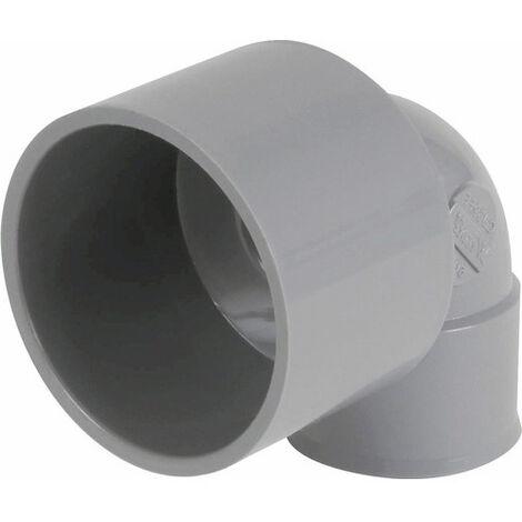 Coude FF 90° PVC réduit Diam50-40mm Nicoll