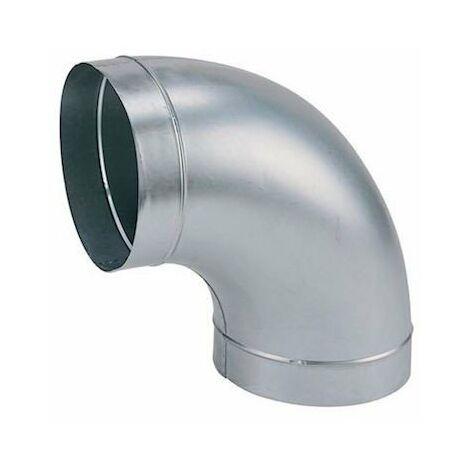 Coude galva standard C 100/90 - Angle 90° - Diamètre 100mm