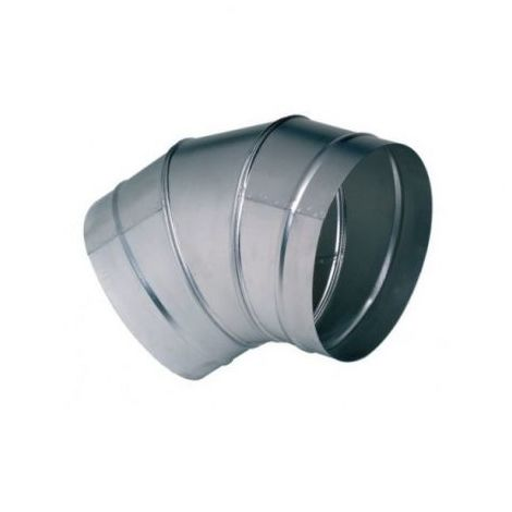 Coude galva standard C 400/45 - Angle 45° - Diamètre 400mm