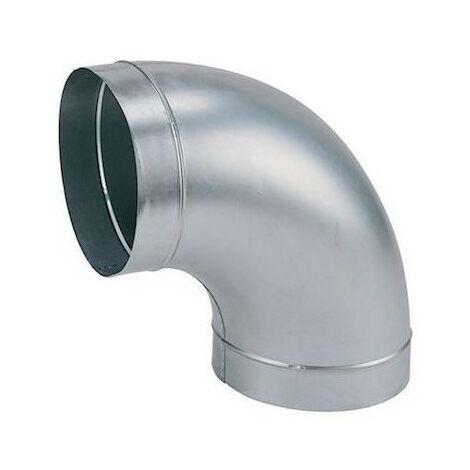 Coude galva standard C 400/90 - Angle 90° - Diamètre 400mm