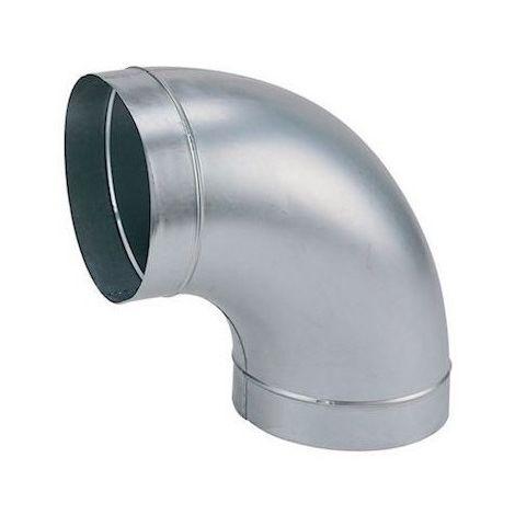 Coude galva standard C 450/90 - Angle 90° - Diamètre 450mm