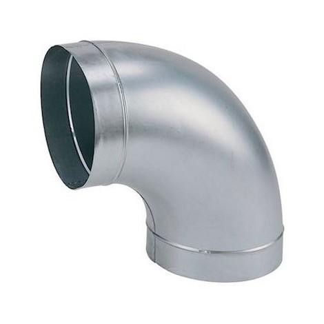 Coude galva standard C 630/90 - Angle 90° - Diamètre 630mm