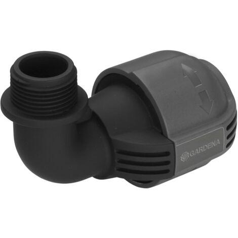 """Coude GARDENA système Sprinkler 02781-20 26,44 mm (3/4"""") (filet ext.) W818191"""