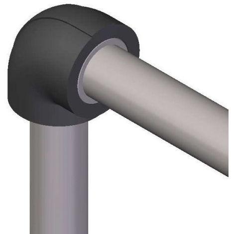 Coude isolant pour réseaux PVC PRESSION - ép. 13 mm - diam. 110 mm
