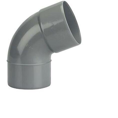 Coude Mâle / Femelle PVC - 67°30 - Diamètre 40 mm