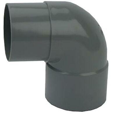 Coude Mâle / Femelle PVC - 87°30 - Diamètre 32 mm