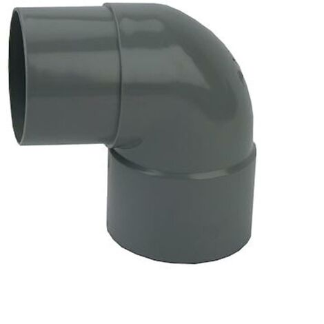 Coude Mâle / Femelle PVC - 87°30 - Diamètre 40 mm