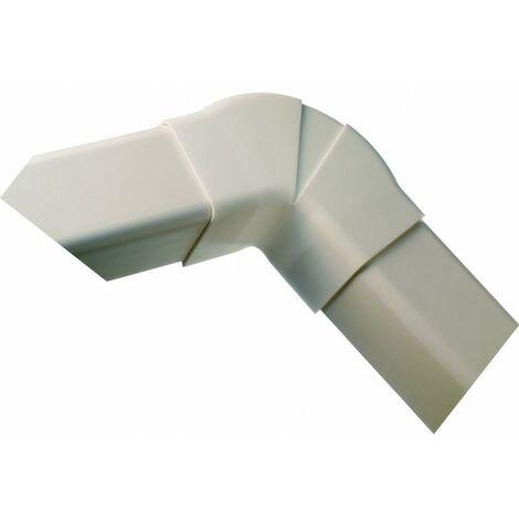 Coude plat 60-130° 80 mm