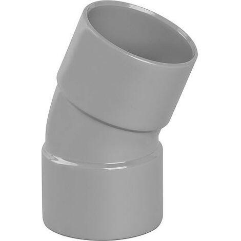 Coude PVC 20° femelle D 40mm