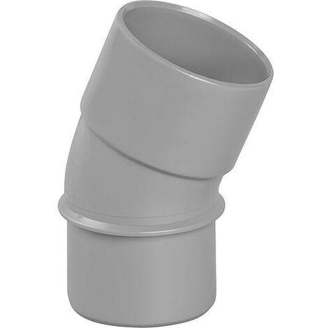 Coude PVC 20° male D 40mm