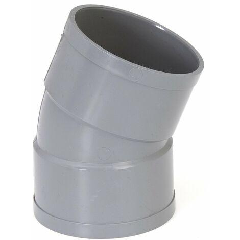 Coude PVC 22°30 FF - plusieurs modèles disponibles