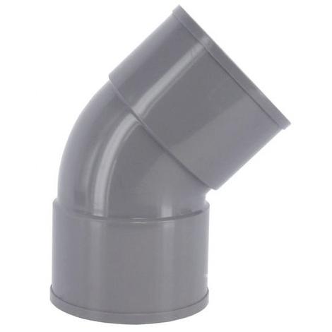 Coude PVC 45° FF Ø32 à 125