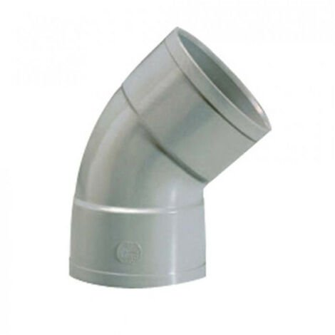 Coude PVC 45° FF - plusieurs modèles disponibles