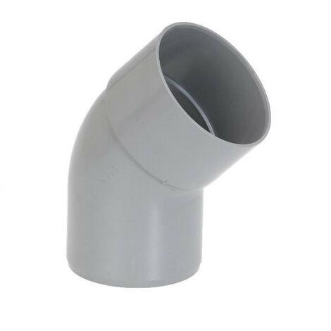 Coude PVC 45° MF - plusieurs modèles disponibles