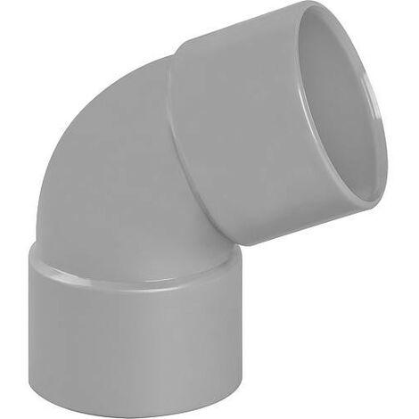 Coude PVC 67° femelle D 40mm