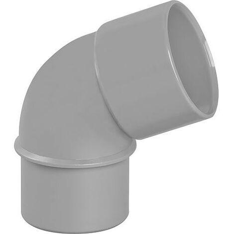 Coude PVC 67° male D 40mm
