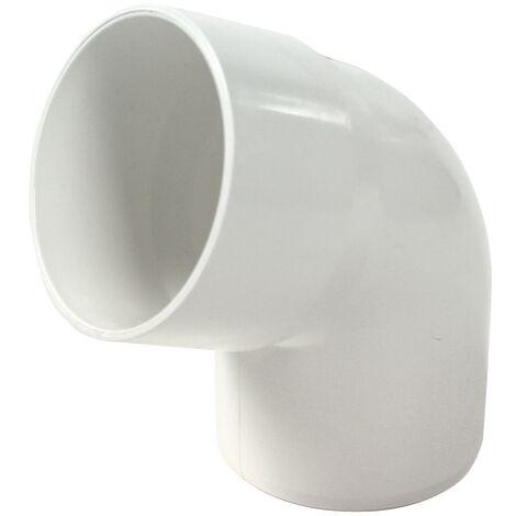 Coude PVC 67°30 MF pour tube Ø100 épaisseur 2.2 ou 3.2 mm- sable