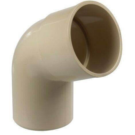 Coude PVC 67°30 MF pour tube Ø80 - Plusieurs couleurs disponibles