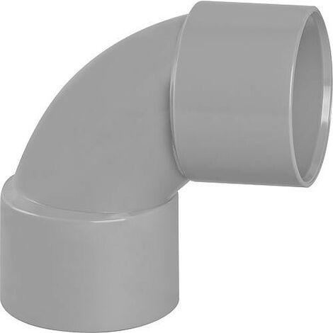 Coude PVC 87° femelle D 40mm