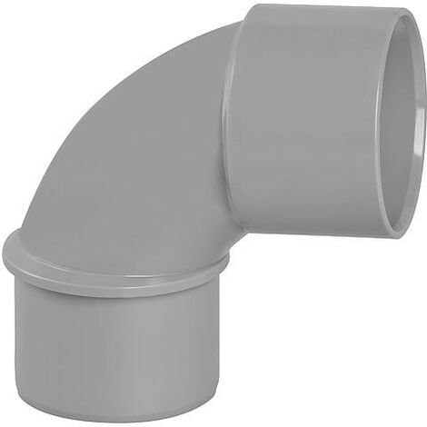 Coude PVC 87° male D 40mm