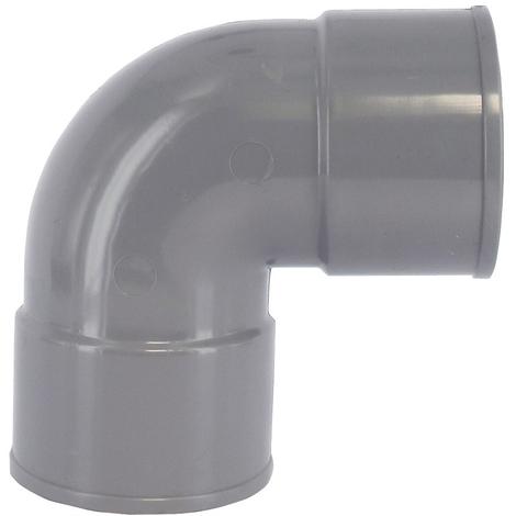 Coude PVC 87°30 FF Ø32 à 125
