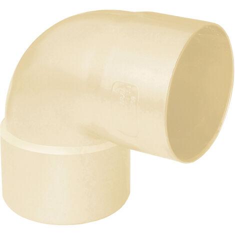 Coude PVC 87°30 FF pour tube Ø80 épaisseur 2.2mm