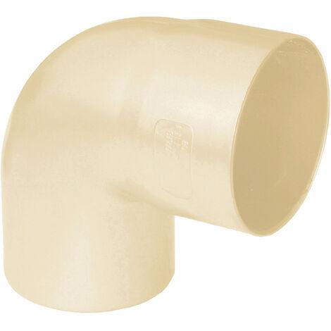 Coude PVC 87°30 MF pour tube Ø80