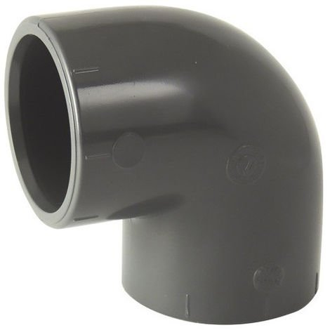 coude PVC 90° F/F à coller - 125mm