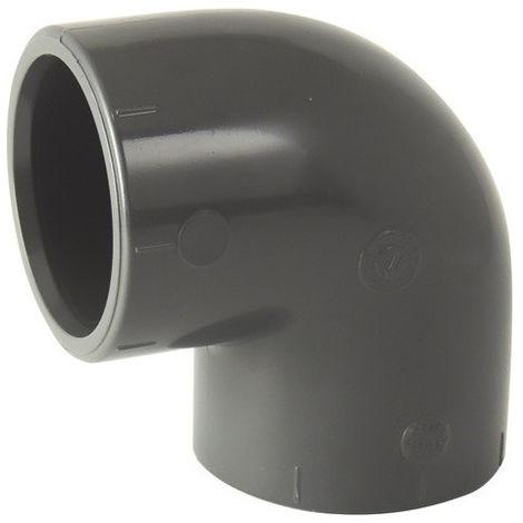 coude PVC 90° F/F à coller - 32mm