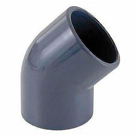 Coude PVC à 45° à coller Ø 110 mm