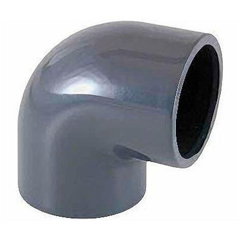Coude PVC à 90° à coller Ø 110 mm