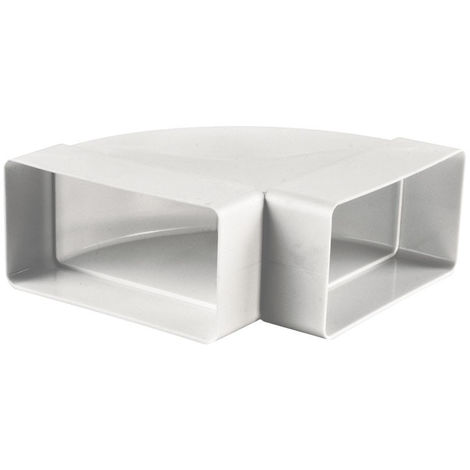 COUDE PVC HORIZONTAL 55MMX110MM